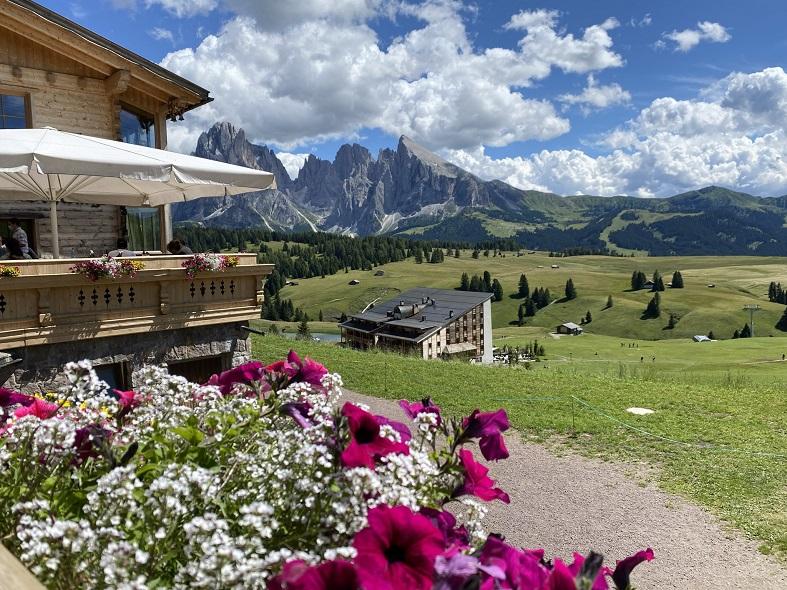 La Malga Schgaguler all'Alpe di Siusi