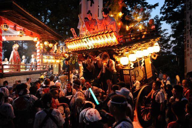 Yamana-jinja Tenno-sai, Mori-machi, Shizuoka