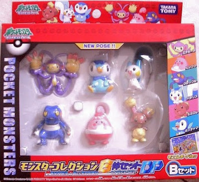 Happiny figure Tomy Monster Collection DP 6pcs figures set