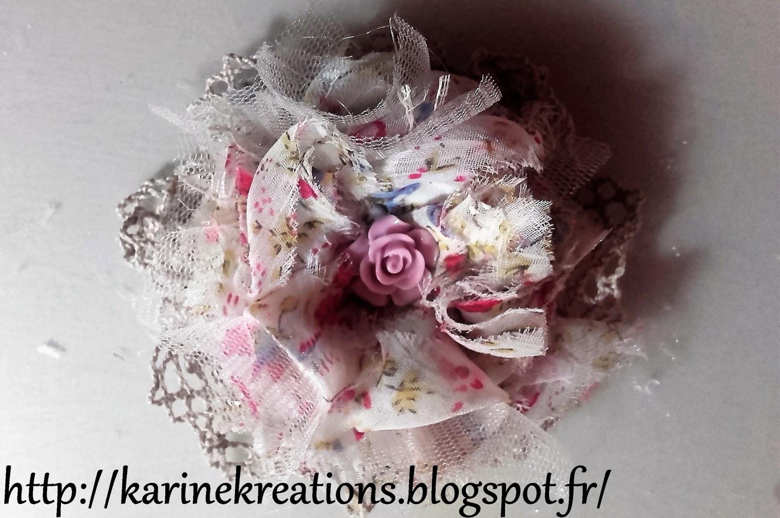 Tuto 4 Faire Des Fleurs En Tissus