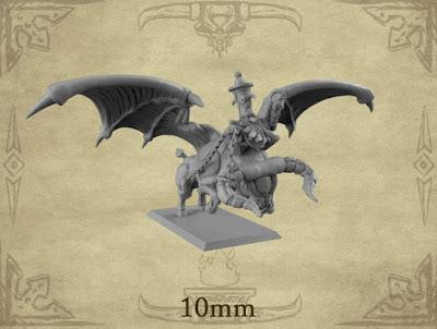 x1 Dwarf Wizard Rider; x1 Taurus