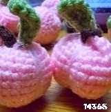 patron gratis melocoton amigurumi, free amigurumi pattern peach