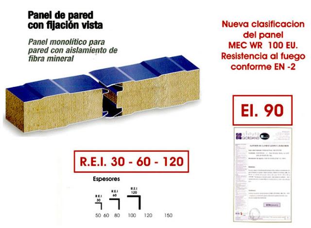 panel material ignífugo carpas almacenes zaragoza