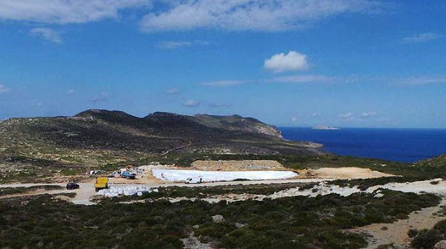 """Αποκατάσταση ΧΑΔΑ σε Αργολίδα, Αρκαδία και Λακωνία από το """"Αντώνης Τρίτσης"""""""