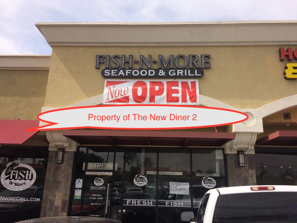 The new diner 2 fish n more seafood grill for Fish stores in utah
