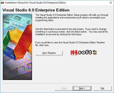 Visual Studio 6.0 Enterprise Edition latest version Free Download