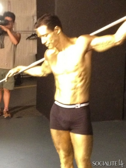 Naked mario lopez bulge something is