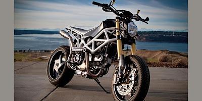 Motor Ducati Bekas Tabrakan Kini Makin Maskulin