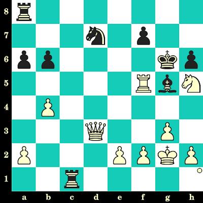Les Blancs jouent et matent en 2 coups - Daniel Fridman vs Ruzvelt Martsvalashvili, Batoumi, 2018