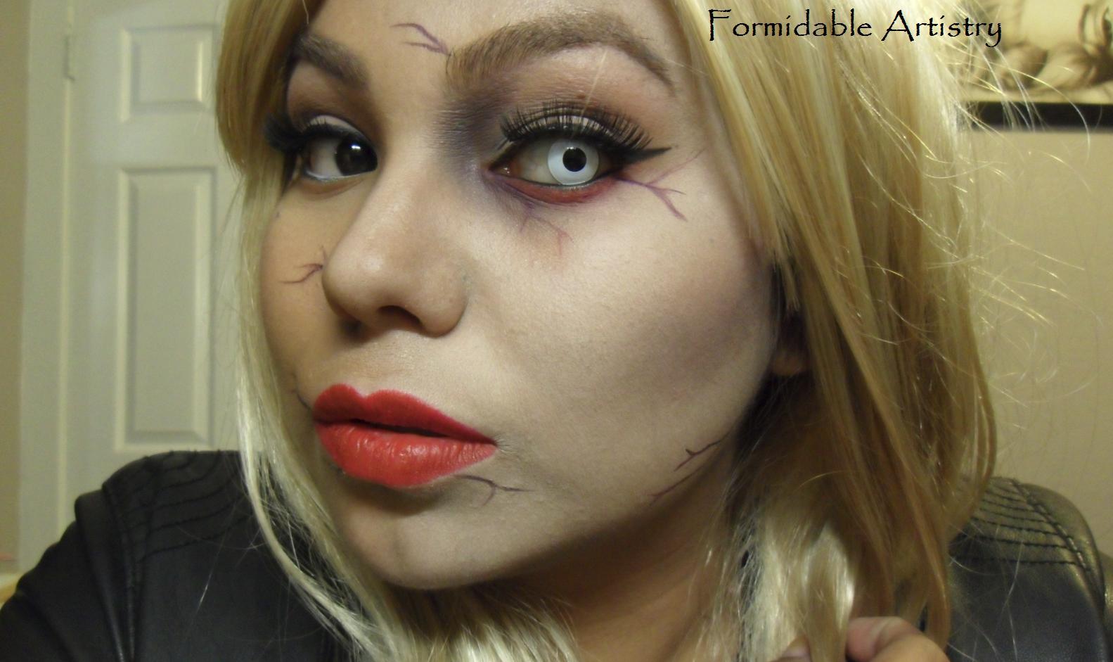 Formidableartistry Zombie Gaga Makeup Tutorial