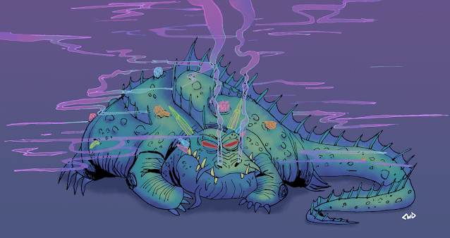 The Crystal-Eating Dream Dragon