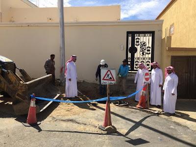 توصيل الصرف الصحي في السعودية