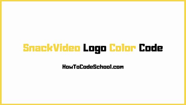 SnackVideo Logo Color Code