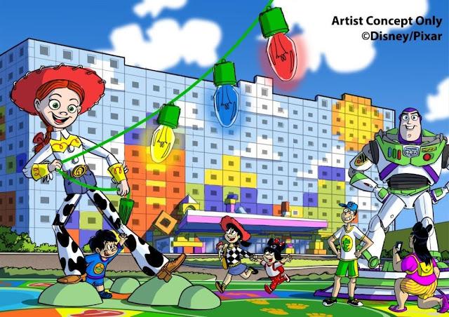 東京迪士尼公佈反斗奇兵主題酒店名為Tokyo Disney Resort Toy Story® Hotel