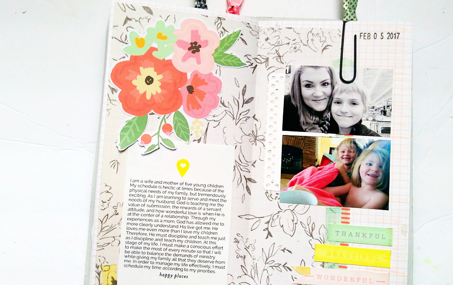 traverler's notebook faith journal