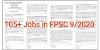 Latest FPSC Jobs 2020 Apply Online Federal Public Service Commission Consolidated advertisement 09/2020 Apply Online