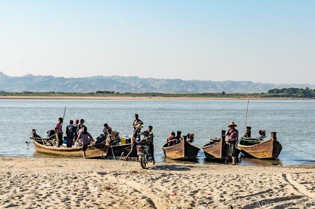 Irrawaddy - Bagan - Myanmar - Birmanie