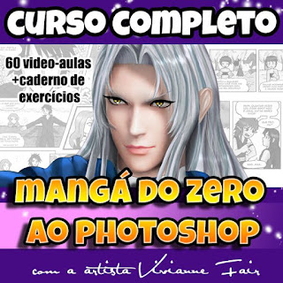 Curso de mangá completo do zero ao Photoshop