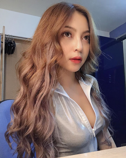 Nhan sắc Nhật Lê - bạn gái Quang Hải