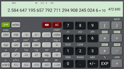 تطبيق حل مسائل الرياضيات المعقدة, تطبيق HiPER Calc Pro للأندرويد, HiPER Calc Pro apk paid pro