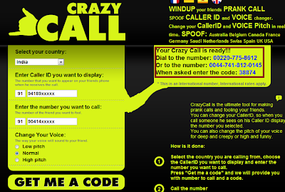 Learn How To Hack: Call spoofing (Fake Calling)