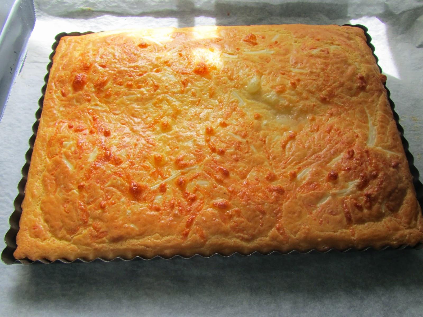 Coca de jamón y queso Thermomix
