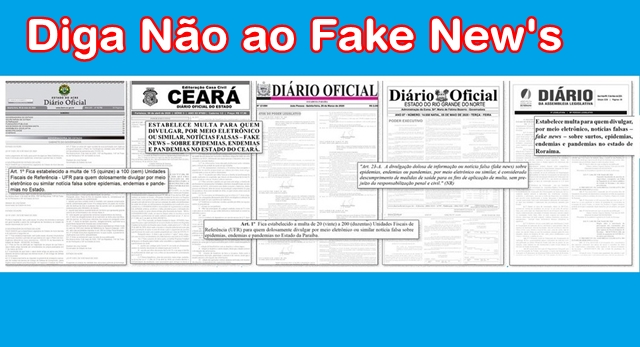 Paraíba e outros estados analisam possibilidade de multar quem divulgar fake news durante pandemia