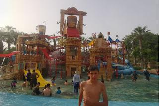 Atlantis Aquaventure de Dubái, Emiratos Árabes Unidos.