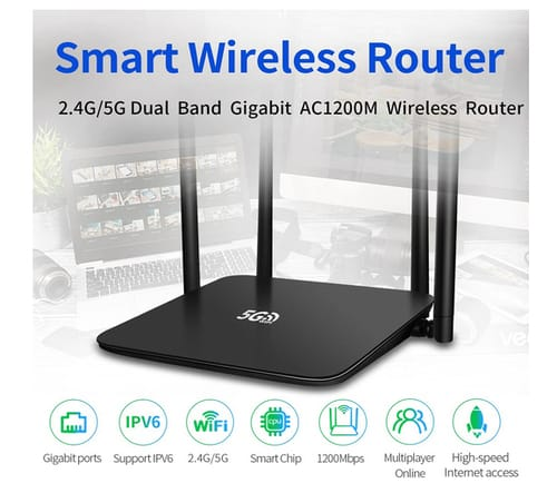 Diyomate High Speed Dual Band Smart Wireless Router