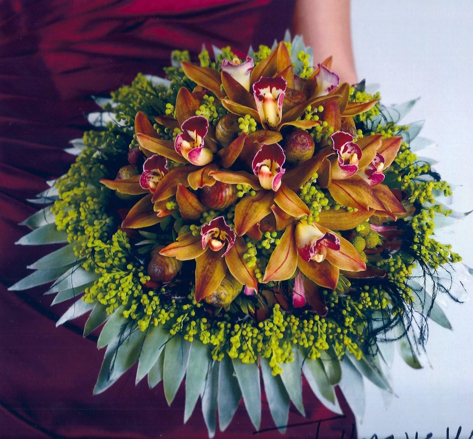 Unique Flower Arrangements For Weddings: A Passion For Flowers: Unique Wedding Bouquets: The Protea