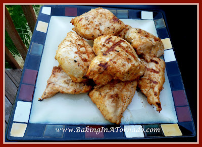 Roasted Style Grilled Chicken | recipe developed by www.BakingInATornado.com | #recipe #dinner