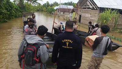 AKBP Dieno Hendro: Layanan Pengobatan Polres Buol Kepada Korban Banjir