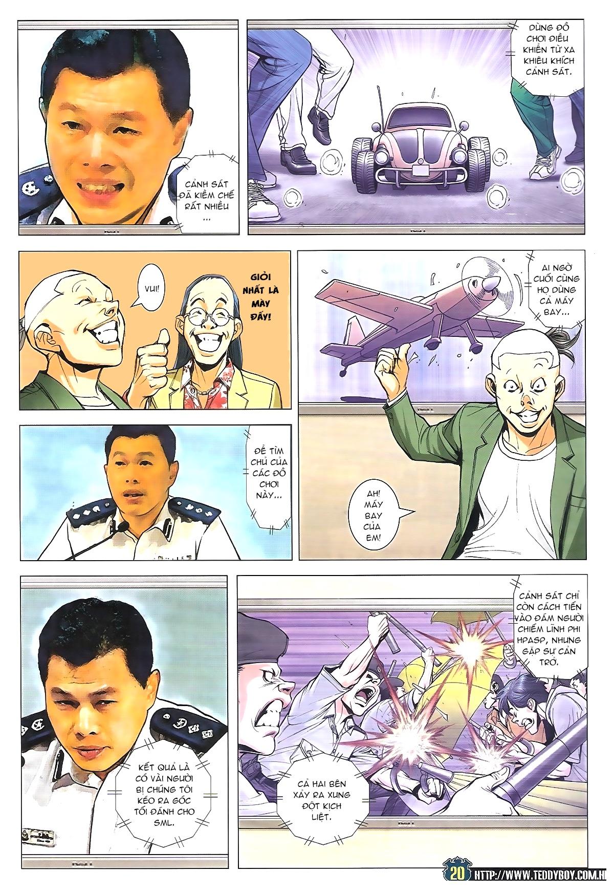 Người Trong Giang Hồ chapter 1770: tên x hồng hưng trang 16