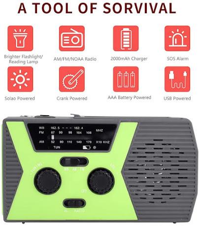 Cheap Weather Emergency Alert Radio