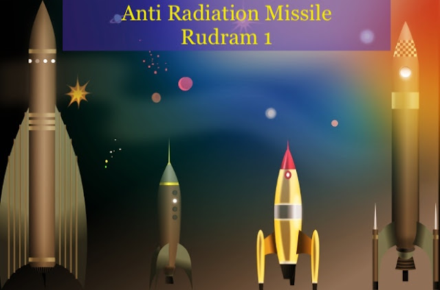 Anti Radiation Missile Rudram 1