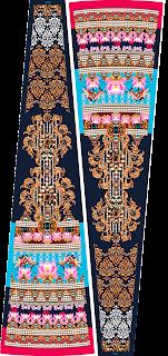 Lehenga Textile Print Design 2483