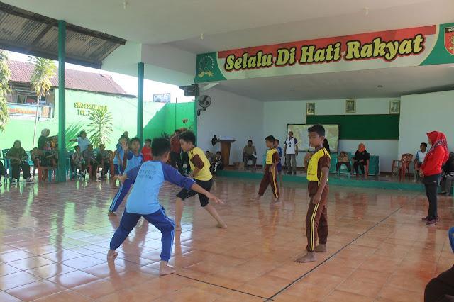 Sekolah Dasar Negeri 13 Biru, Merai Juara I Lomba Hadang