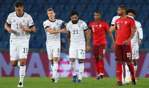 Hasil Pertandingan Swiss vs Jerman