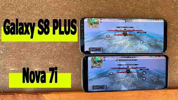 Huawei Nova 7i vs Galaxy S8 Plus
