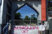 Sambut New Normal, Mahasiswa UIN Mataram Segel Kampus.