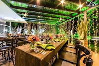festa de 15 anos na sogipa em porto alegre deck turner festa despojada descontraída roxo verde e coral