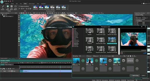تحميل برنامج VSDC Video Editor Pro 6.4.5 محرر فيديو غني بالميزات