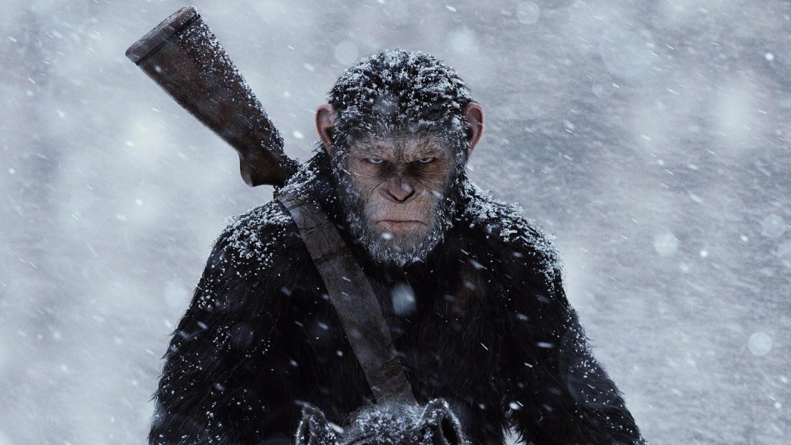 Planeta dos Macacos: A Guerra (2017) | Filme traz desfecho decente etrabalha ideologias atuais