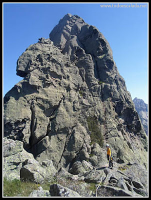 Cima del Acelliu desde la punta Acelluciu