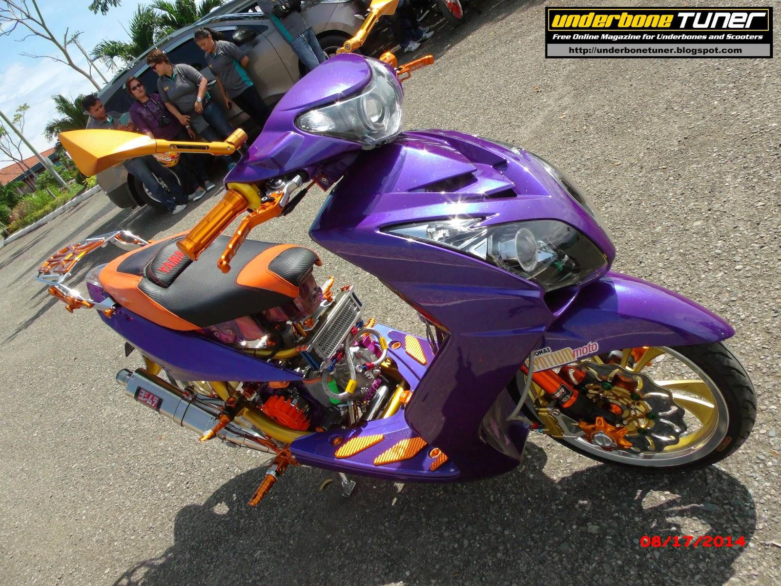 Yamaha Mio Amore Set Up