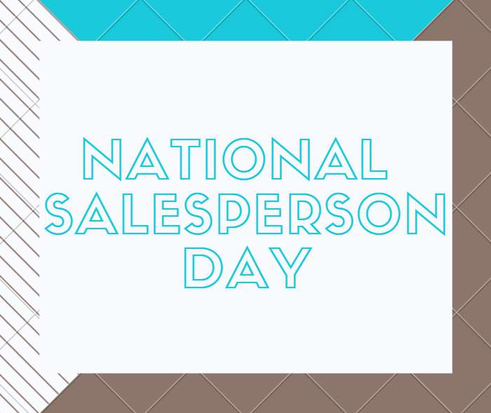 National Salesperson Day Wishes Photos