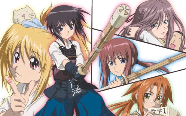 Bamboo Blade - Daftar Anime Sport terbaik Sepanjang Masa