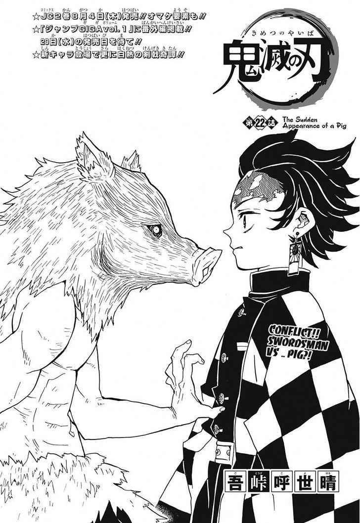 DEMON SLAYER: KIMETSU NO YAIBA CHAPTER 22 20