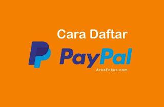 Cara Daftar PayPal