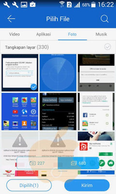 Cara Mengirim File dari Lava Iris 758 ke iPhone dan Menggunakan ShareIt dengan Mudah